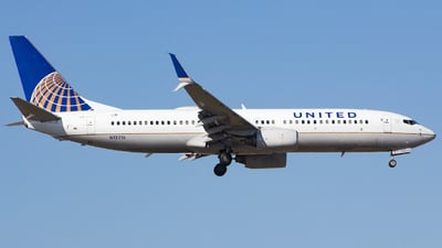 A picture of N12216 - Boeing 737824 - United Airlines - © Xiamen Air 849 Heavy