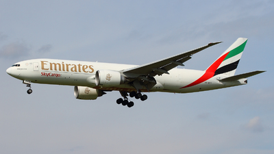 A6-EFF - Boeing 777-F1H - Emirates SkyCargo