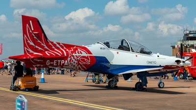 G-ETPA - Pilatus PC-21 - United Kingdom - QinetiQ
