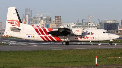A picture of OOVLS - Fokker 50 - Air Antwerp - © Dave Potter