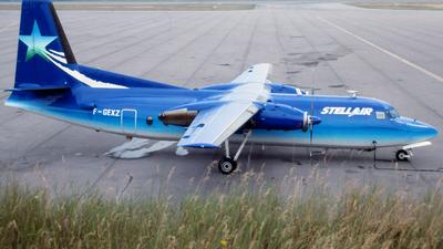 F-GEXZ - Fairchild F-27F - Stellair