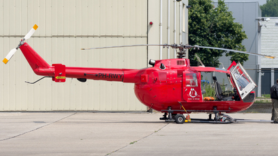 PH-RWY - MBB Bo105DBS-4 - Rotor & Wings