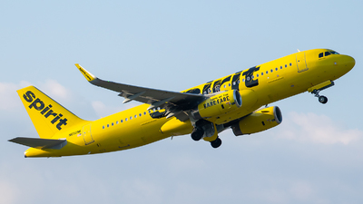 A picture of N692NK - Airbus A320232 - Spirit Airlines - © Evan Dougherty
