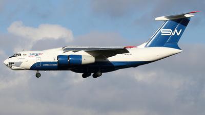 A picture of 4KAZ101 - Ilyushin IL76TD90VD - Silk Way Airlines - © Philipp Schuetz