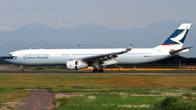 B-LBK - Airbus A330-343 - Cathay Pacific Airways