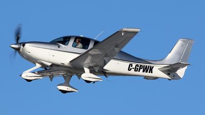 C-GPWK - Cirrus SR22T - Private