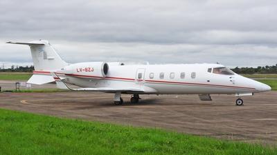 LV-BZJ - Bombardier Learjet 60 - Royal Class