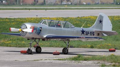 A picture of SPYFG - Yakovlev Yak52 - [9010307] - © Marcin G. Dabrowski