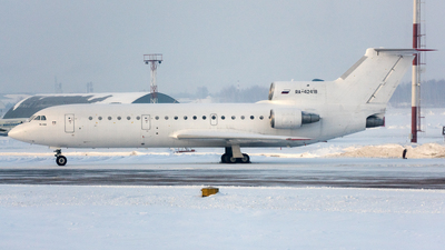 A picture of RA42418 - Yakovlev Yak42D - UTair Cargo - © Marius Hoepner