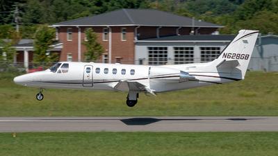 N628GB - Cessna 550 Citation II - Private