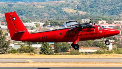 A picture of VPFAZ - De Havilland Canada DHC6300 Twin Otter -  - © Alfredo La Red