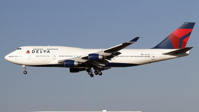 N673US - Boeing 747-451 - Delta Air Lines