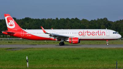 D-ABCN - Airbus A321-211 - Air Berlin