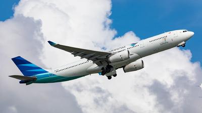 PK-GPZ - Airbus A330-343 - Garuda Indonesia
