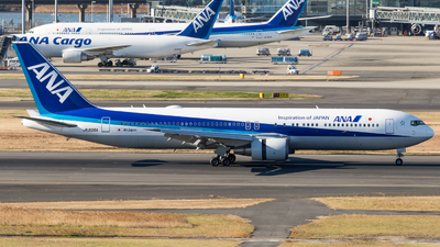 JA606A - Boeing 767-381(ER) - All Nippon Airways (Air Japan)