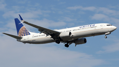 A picture of N68801 - Boeing 737924(ER) - United Airlines - © Xiamen Air 849 Heavy