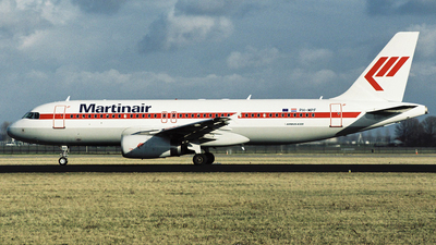 PH-MPF - Airbus A320-232 - Martinair