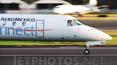 XA-WLI - Embraer ERJ-145LU - Aeroméxico Connect