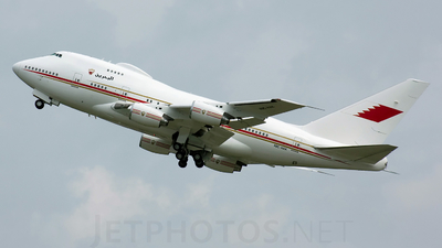 A9C-HAK - Boeing 747SP-Z5 - Bahrain - Royal Flight