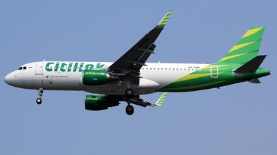 PK-GQM - Airbus A320-214 - Citilink