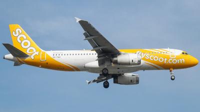9V-TAV - Airbus A320-232 - Scoot