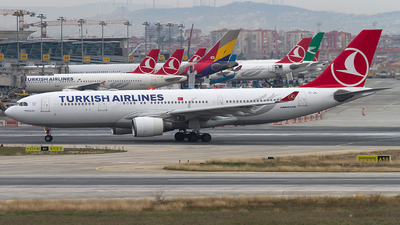 TC-JIL - Airbus A330-202 - Turkish Airlines