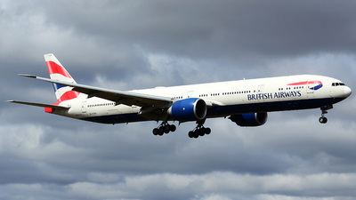 A picture of GSTBA - Boeing 777336(ER) - British Airways - © Scott Pindera