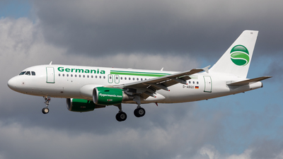 D-ABGO - Airbus A319-112 - Germania