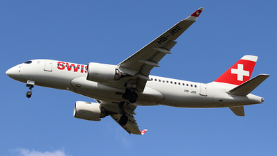 A picture of HBJBE - Airbus A220100 - Swiss - © ms spot