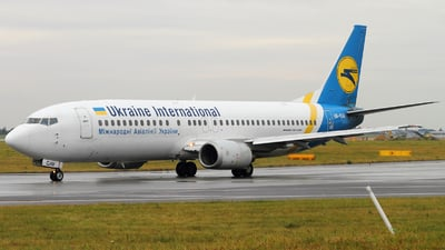 UR-GAV - Boeing 737-4C9 - Ukraine International Airlines