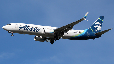 A picture of N434AS - Boeing 737990(ER) - Alaska Airlines - © Huy Do