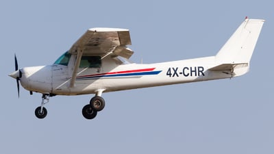 4X-CHR - Reims-Cessna F152 II - FN Aviation