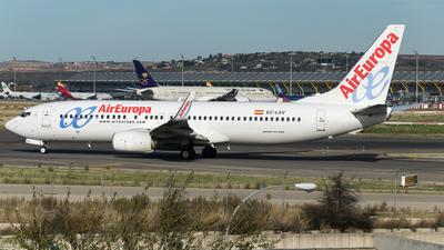 EC-LXV - Boeing 737-85P - Air Europa