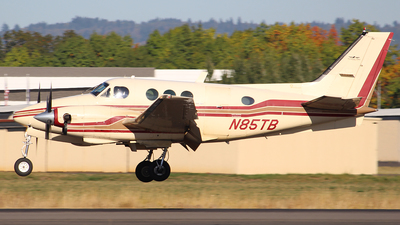 N85TB - Beechcraft C90 King Air - Hillsboro Aviation