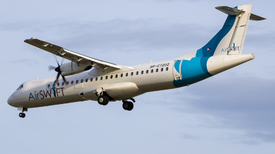 A picture of RPC7202 - ATR 72600 - AirSWIFT - © Hagin Busto