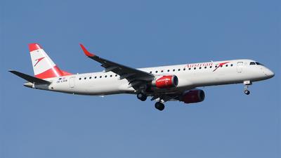 OE-LWB - Embraer 190-200LR - Austrian Airlines