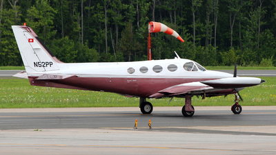 A picture of N52PP - Cessna 340A - [340A0987] - © Guy Langlois