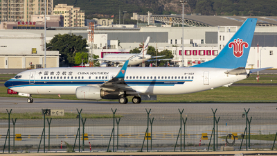A picture of B1923 - Boeing 73786N - China Southern Airlines - © Eric Wang