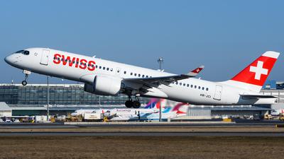 A picture of HBJCI - Airbus A220300 - Swiss - © Chris Jilli