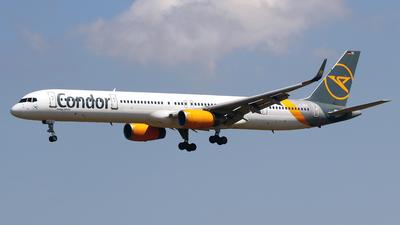 A picture of DABOC - Boeing 757330 - Condor - © Javier Rodriguez - Amics de Son Sant Joan