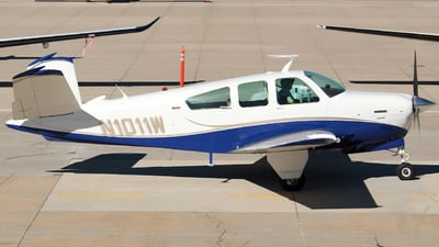 N1011W - Beechcraft V35B Bonanza - Private