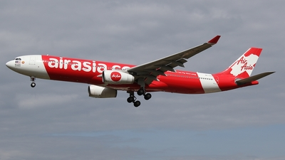 A picture of 9MXXK - Airbus A330343 - AirAsia X - © James Saunders