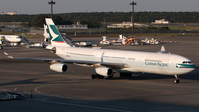 B-HXH - Airbus A340-313X - Cathay Pacific Airways