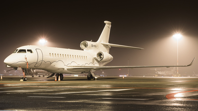 OO-HHO - Dassault Falcon 8X - Abelag Aviation