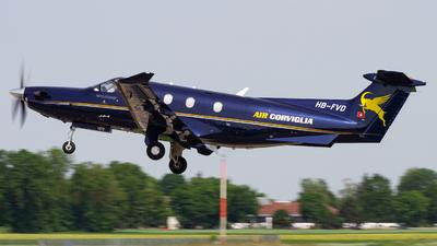 A picture of HBFVD - Pilatus PC12/47E - [1072] - © Fabian Irmler