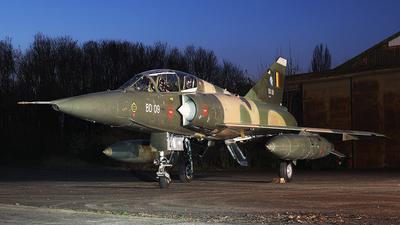 BD09 - Dassault Mirage 5BD - Belgium - Air Force