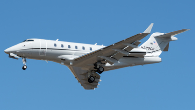 A picture of N290CH - Bombardier Challenger 300 - [20029] - © Kerrigan_Aviation_NJ