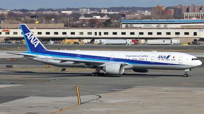 A picture of JA797A - Boeing 777300(ER) - All Nippon Airways - © Xiamen Air 849 Heavy