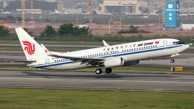 B-7180 - Boeing 737-89L - Air China