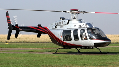 ZS-RJE - Bell 407 - Private